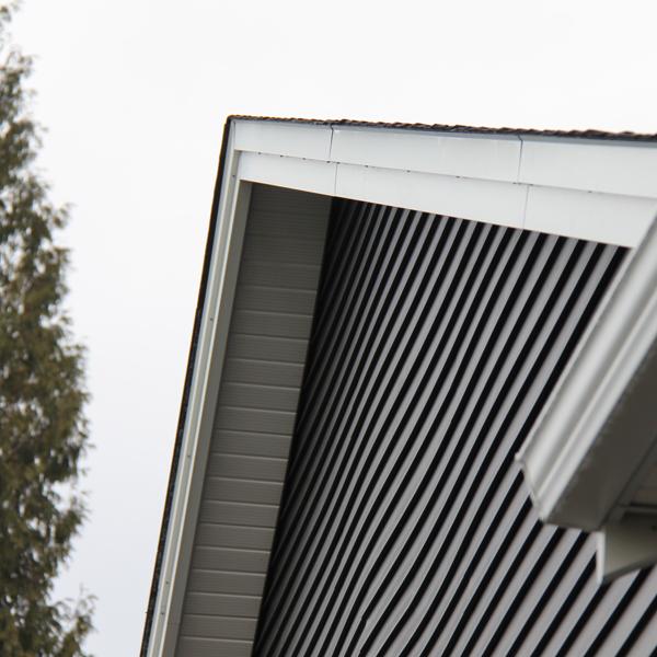 aluminum fascia cover langley