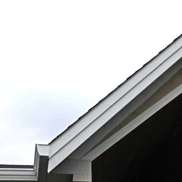aluminum fascia cover white rock