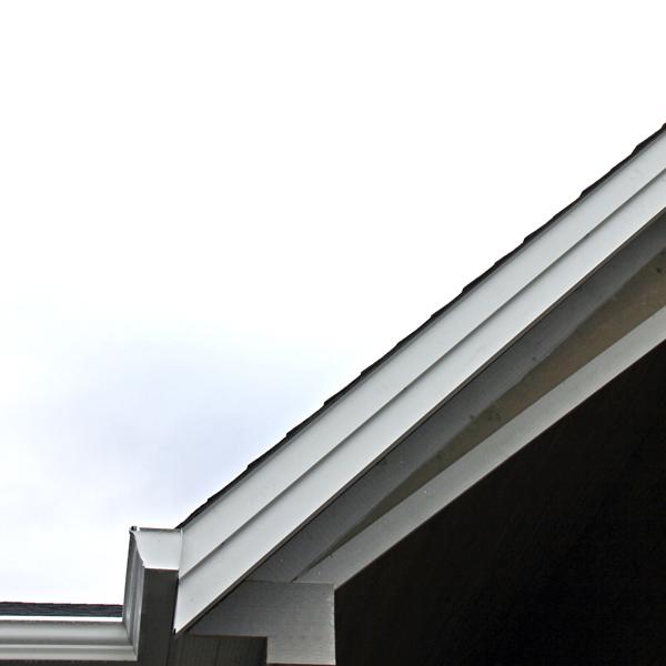 aluminum fascia cover white rock