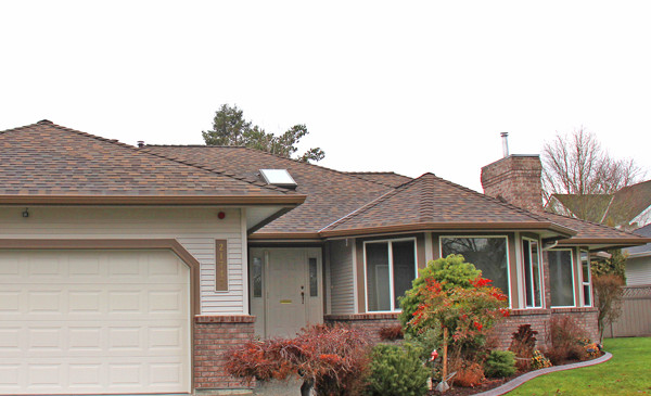 Saddle Brown Super Crown Gutters